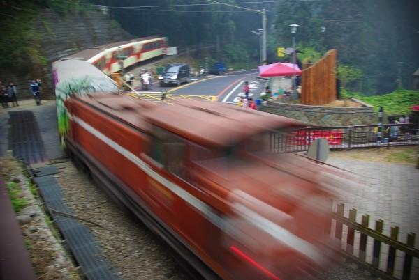 阿里山森林鐵路火車